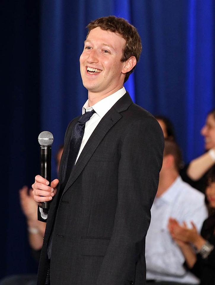 "May 14: Mark Zuckerberg turns 27 Justin Sullivan/<a href=""http://www.gettyimages.com/"" target=""new"">GettyImages.com</a> - April 20, 2011"