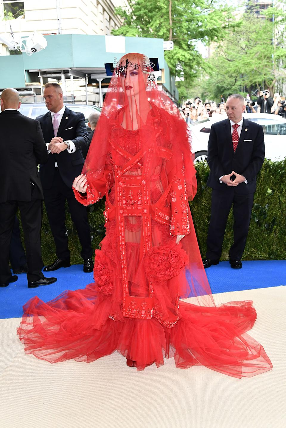 """<h1 class=""""title"""">Katy Perry in Maison Margiela</h1><cite class=""""credit"""">Photo: Shutterstock</cite>"""