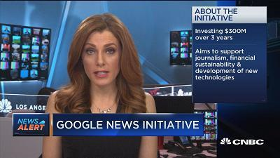 CNBC's Julia Boorstin reports on Google's new initiative to combat fake news and promote quality journalism.