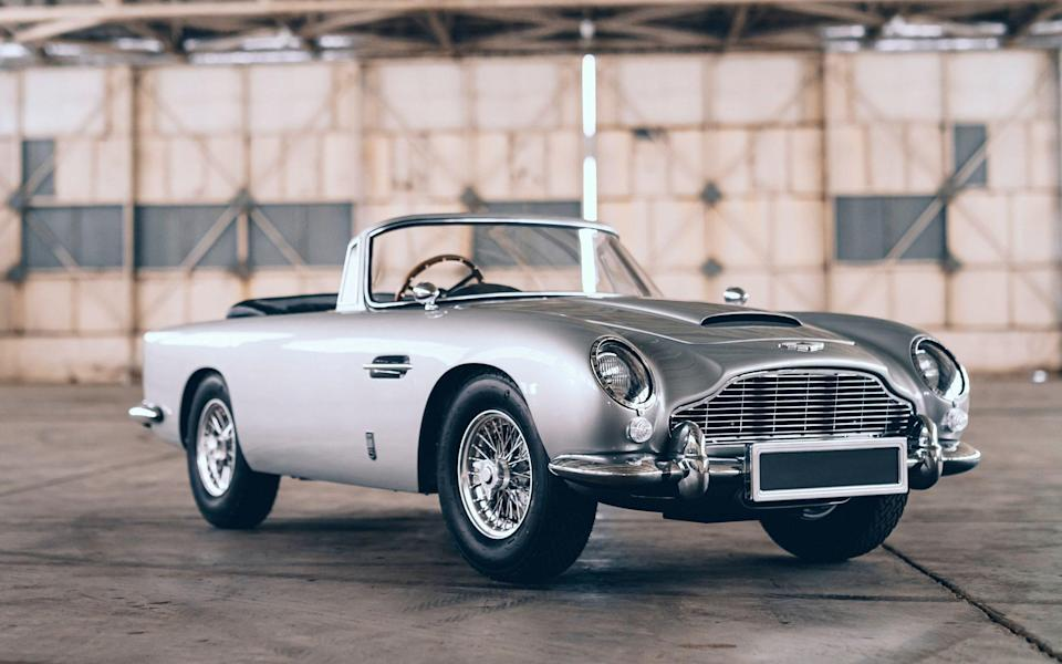 For your eyes only, the scaled-down version of the Aston Martin DB5 - Little Car Company/Cover-Images.com