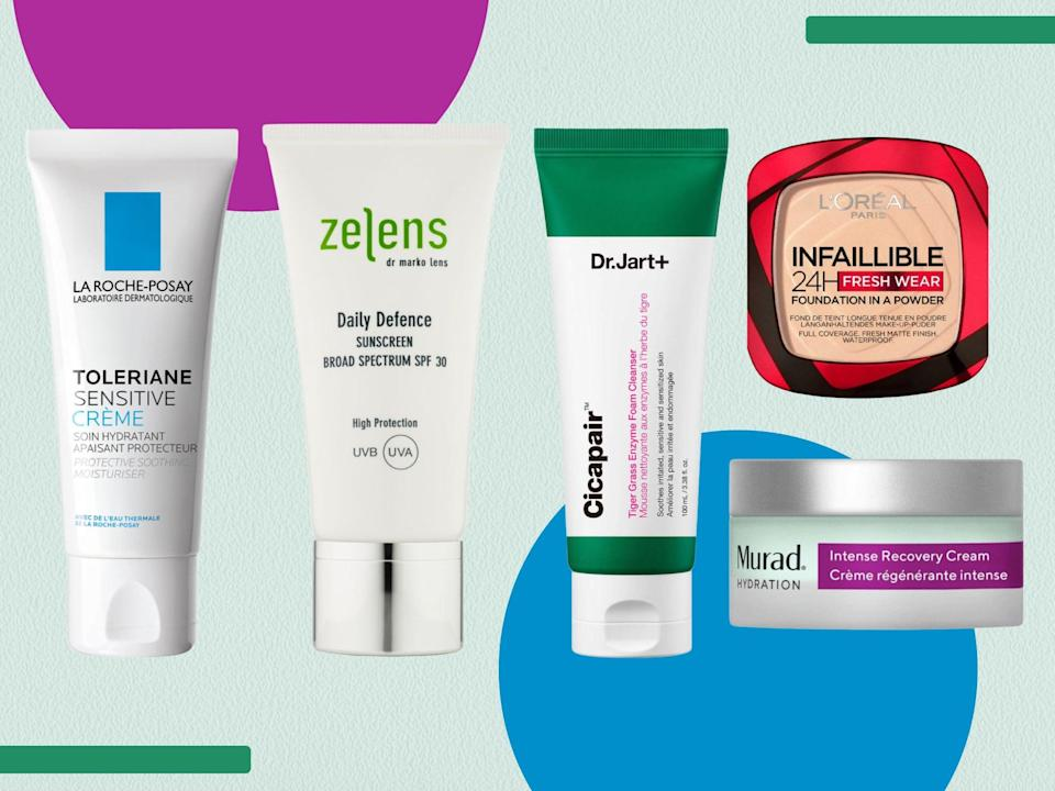 Shop our hero buys from La Roche-Posay, Murad and more (iStock/The Independent)