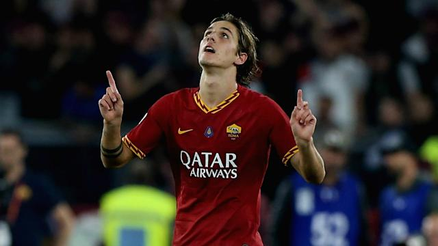 Roma midfielder Nicolo Zaniolo is reportedly attracting interest from England and France.