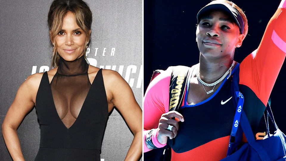 Halle Berry and Serena Williams, pictured here in their respective industries.