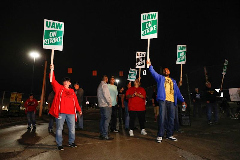 'Workers Are Tired and Frustrated and Angry.' Uneven Economic Growth Fuels Walkouts Like the GM Strike