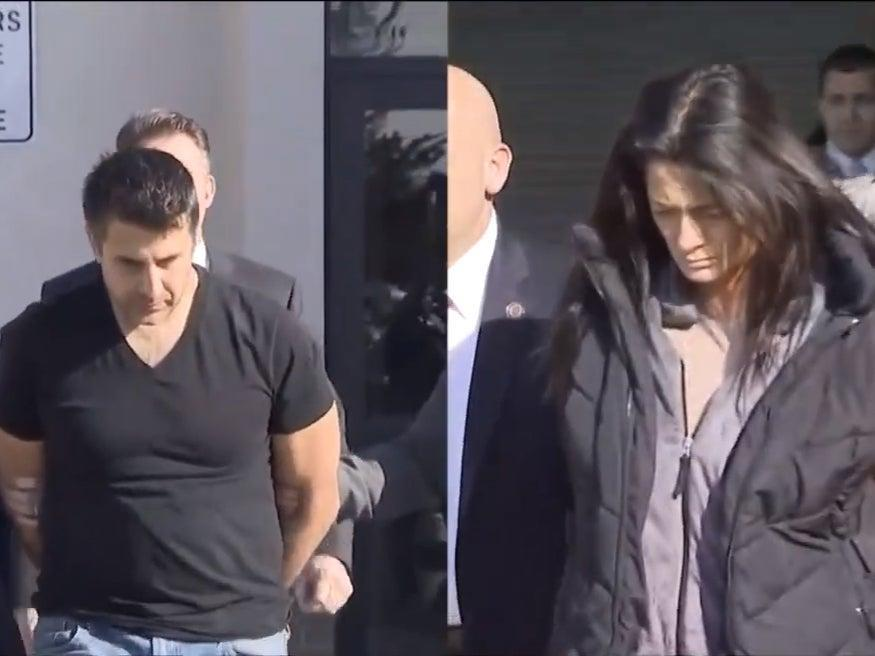 Former NYPD officer Thomas Valva and his ex-fiancée Angela Pollina are both charged in the death of 8-year-old Thomas Valva.  (CBS New York)