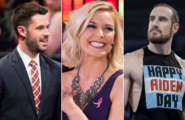 Renee Young, Tom Phillips and Aiden English to Call Tonight's WWE 'SmackDown' on Fox (Exclusive)