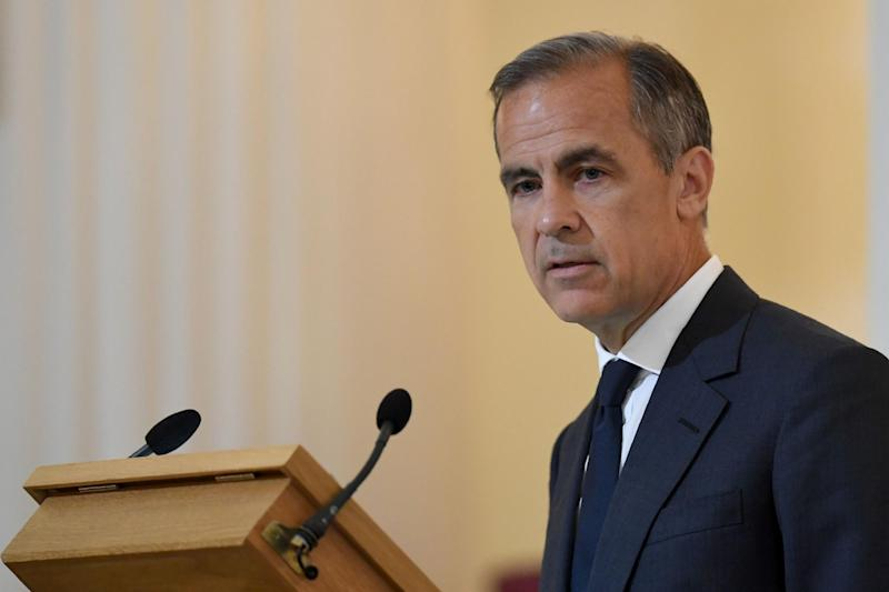 Bank of England Governor Mark Carney could have to write to Chancellor Philip Hammond to explain why the cost of living has risen by more than 1% above its official target: AFP/Getty Images