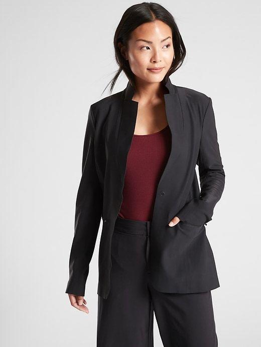 """<p><strong>Interstellar Blazer</strong></p><p>athleta.gap.com</p><p><strong>$74.97</strong></p><p><a href=""""https://go.redirectingat.com?id=74968X1596630&url=https%3A%2F%2Fathleta.gap.com%2Fbrowse%2Fproduct.do%3Fpid%3D486226002%26cid%3D1128982%26pcid%3D1128982%26vid%3D1%26grid%3Dpds_4_7_1%23pdp-page-content&sref=https%3A%2F%2Fwww.prevention.com%2Ffitness%2Fworkout-clothes-gear%2Fg36840253%2Fbest-athleisure-brands%2F"""" rel=""""nofollow noopener"""" target=""""_blank"""" data-ylk=""""slk:Shop Now"""" class=""""link rapid-noclick-resp"""">Shop Now</a></p><p>Not only does <strong><a href=""""https://go.redirectingat.com?id=74968X1596630&url=https%3A%2F%2Fathleta.gap.com%2F&sref=https%3A%2F%2Fwww.prevention.com%2Ffitness%2Fworkout-clothes-gear%2Fg36840253%2Fbest-athleisure-brands%2F"""" rel=""""nofollow noopener"""" target=""""_blank"""" data-ylk=""""slk:Athleta"""" class=""""link rapid-noclick-resp"""">Athleta</a></strong> offer some of the best performing athletic wear for your most demanding workouts, it also carries beautiful and functional pieces for your busiest work days. Who knew you could find a <a href=""""https://go.redirectingat.com?id=74968X1596630&url=https%3A%2F%2Fathleta.gap.com%2Fbrowse%2Fproduct.do%3Fpid%3D486226&sref=https%3A%2F%2Fwww.prevention.com%2Ffitness%2Fworkout-clothes-gear%2Fg36840253%2Fbest-athleisure-brands%2F"""" rel=""""nofollow noopener"""" target=""""_blank"""" data-ylk=""""slk:blazer"""" class=""""link rapid-noclick-resp"""">blazer</a> from an athletic company? There's also a <a href=""""https://go.redirectingat.com?id=74968X1596630&url=https%3A%2F%2Fathleta.gap.com%2Fbrowse%2Fproduct.do%3Fpid%3D531173062%23pdp-page-content&sref=https%3A%2F%2Fwww.prevention.com%2Ffitness%2Fworkout-clothes-gear%2Fg36840253%2Fbest-athleisure-brands%2F"""" rel=""""nofollow noopener"""" target=""""_blank"""" data-ylk=""""slk:transitional dress"""" class=""""link rapid-noclick-resp"""">transitional dress</a> and trendy <a href=""""https://go.redirectingat.com?id=74968X1596630&url=https%3A%2F%2Fathleta.gap.com%2Fbrowse%2Fproduct.do%3Fpid%3D657665012%23pdp-page-content&sref=ht"""