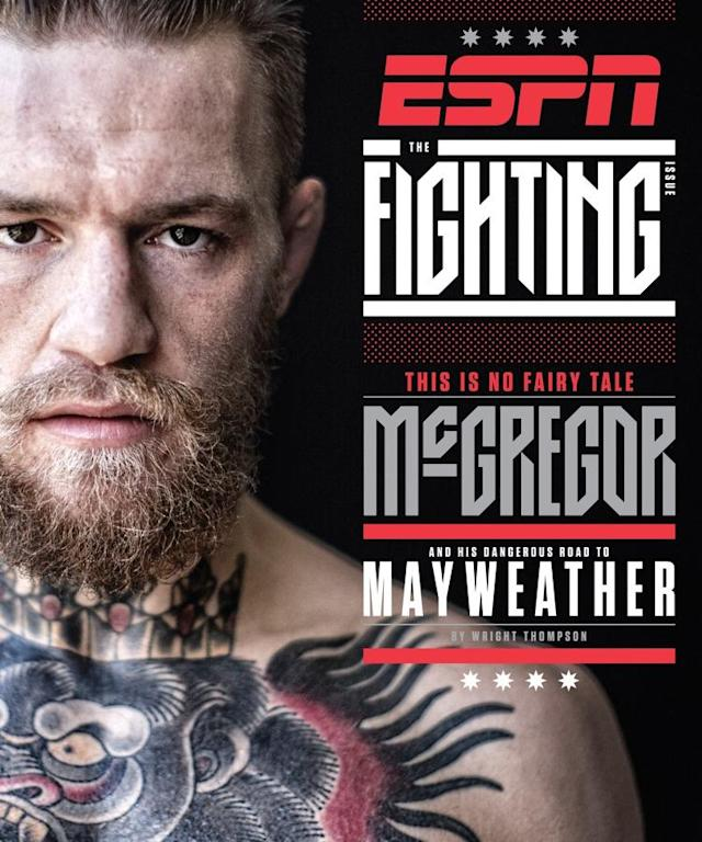 Conor McGregor Fronts Special 'The Fighting Issue' of ESPN The Magazine