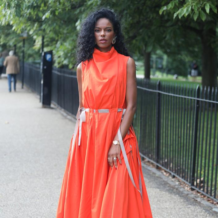 """""""Rainbow"""" Is the Unofficial Dress Code at London Fashion Week"""