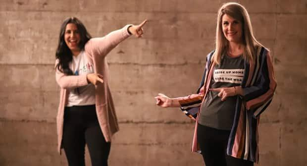 Talitha McCloskey and Skylar Gerard say they started RaiseHER to create a community for women from different backgrounds.