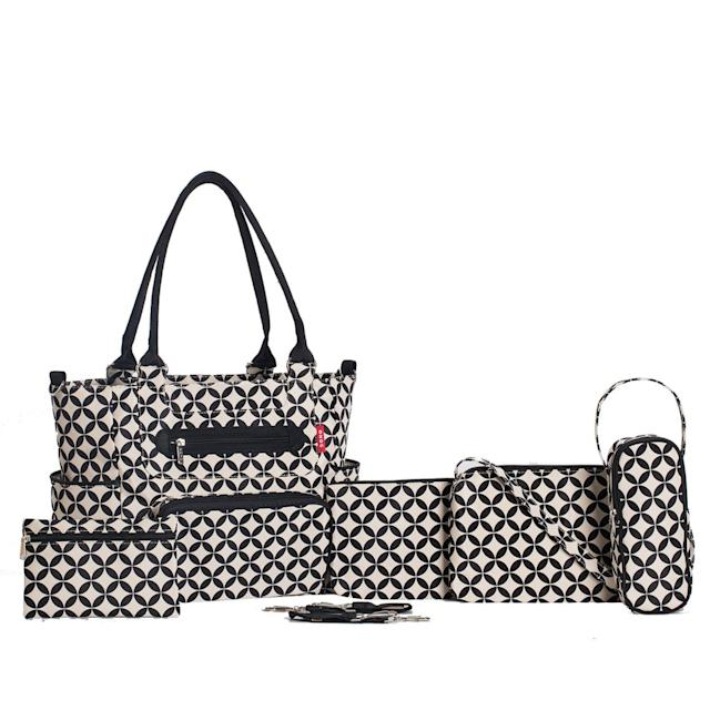 SoHo Deisgns Grand Central Station Diaper Bag