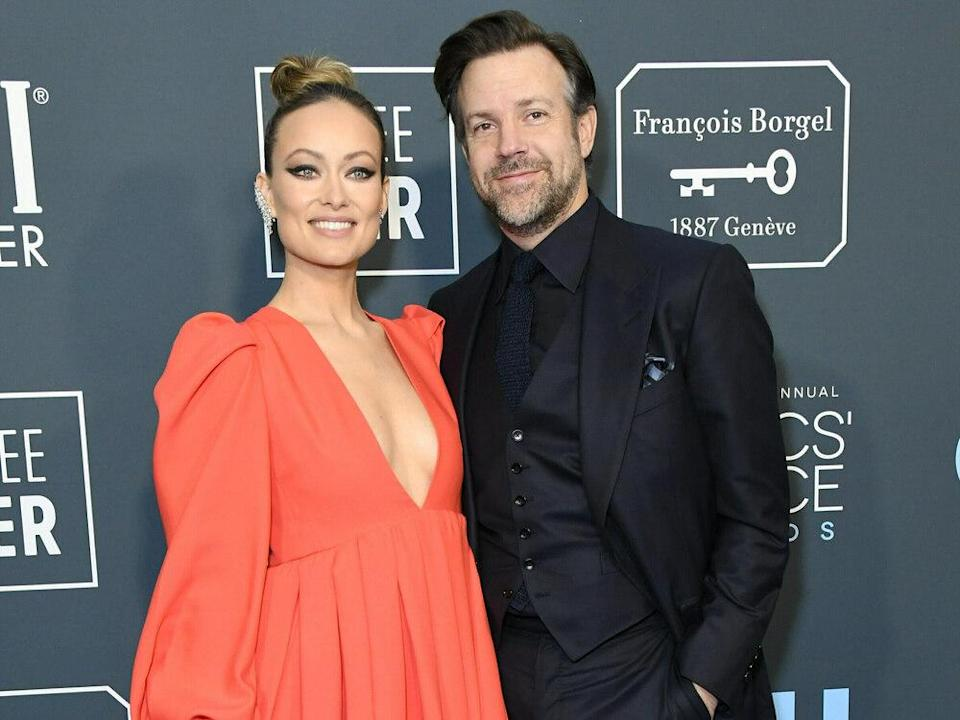Olivia Wilde und Jason Sudeikis bei den Critics Choice Awards 2020. (Bild: Birdie Thompson/AdMedia/ImageCollect)