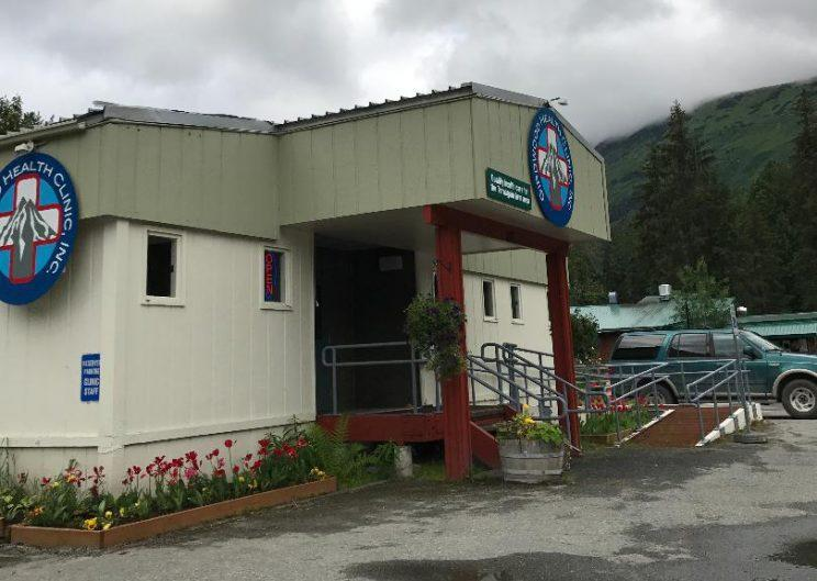 Girdwood Health Clinic, above, could be at risk for closing because of proposed cuts to Medicaid. (Photo: Andrew Bahl/Yahoo News)