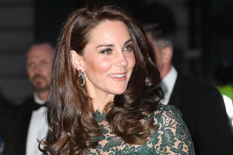 The Duchess of Cambridge was pictured sunbathing topless (PA)