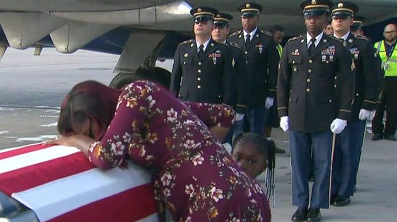Trump Told Army Widow Her Husband Knew 'What He Signed Up For,' Congresswoman Says
