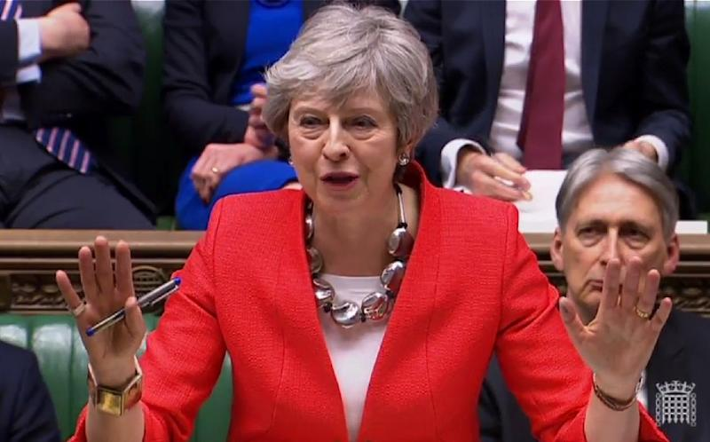 British lawmakers have inflicted another crushing defeat on beleaguered Prime Minister Theresa May (AFP Photo/PRU)
