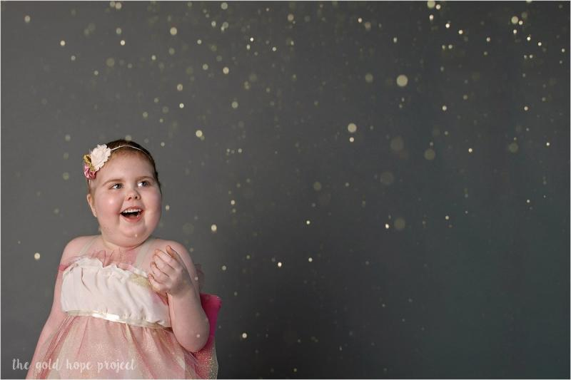 Dawson was inspired to create the Gold Hope Project after her daughter Ava's 11-month fight against a terminal brain tumor known as diffuse intrinsic pontine glioma (DIPG) (The Gold Hope Project)