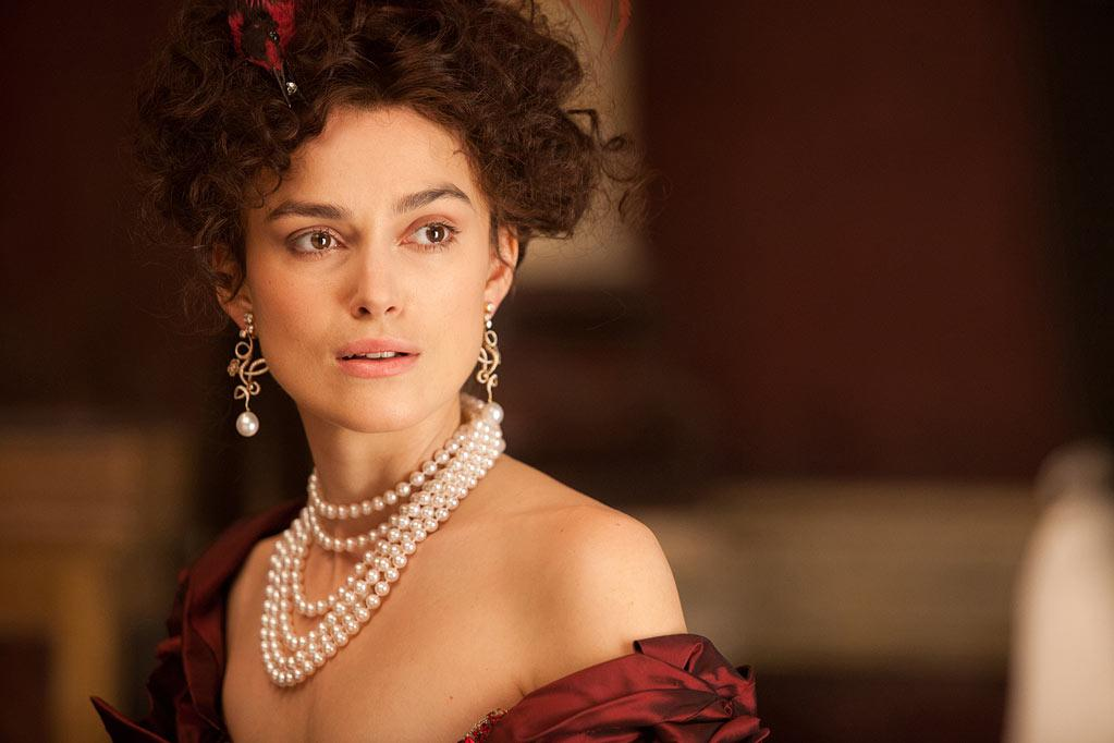 """Anna Karenina"" The third collaboration of Academy Award® nominee Keira Knightley with acclaimed director Joe Wright, following the award-winning box office successes Pride & Prejudice and Atonement, is a bold, theatrical new vision of the epic love story, adapted from Leo Tolstoy's timeless novel by Academy Award winner Tom Stoppard (Shakespeare in Love). The story powerfully explores the capacity for love that surges through the human heart. As Anna (Knightley) questions her happiness and marriage, change comes to surround her. Also starring Jude Law and Aaron Taylor-Johnson."