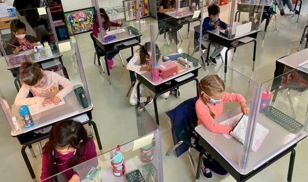 Giving children some room to decompress outside of school can make their transition back to the classroom easier. (Sarah MacMillan/CBC - image credit)