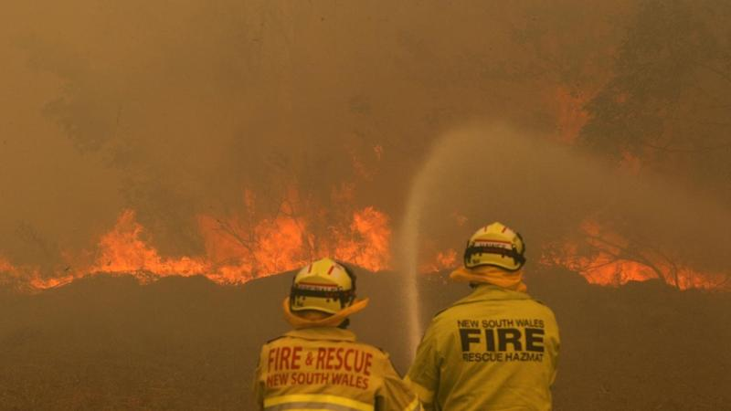 NSW crews are desperately trying to control bushfires before catastrophic danger on Tuesday