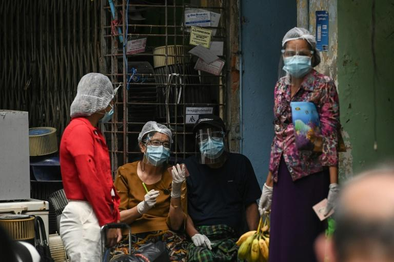 Hundreds of thousands of elderly in Myanmar are expected to cast their ballots in advance voting to reduce the risk of coronavirus