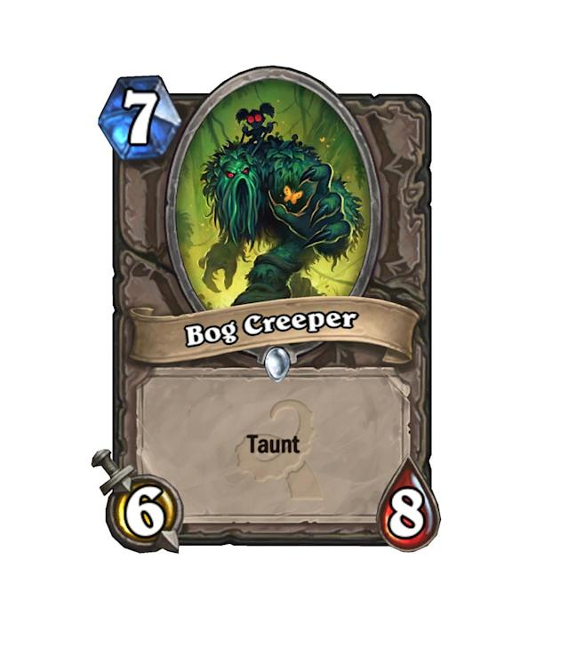 <p>If you find Bog Creeper in Arena, nab him immediately. Simply one of the best common 7-drops in the set, he'll outright win you games in the draft format.</p>