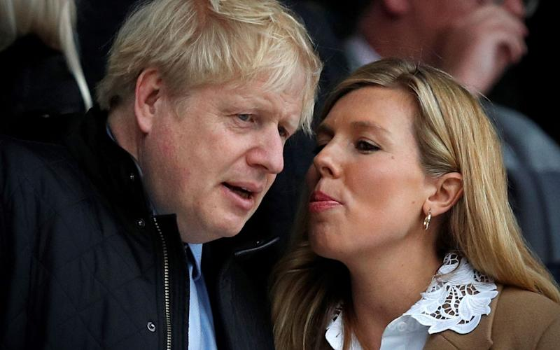 Was Boris Johnson's baby born early, and will he take paternity leave? - AFP