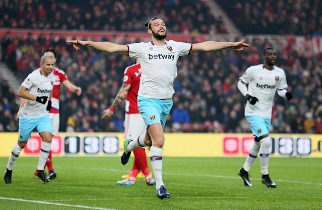 <p>Andy Carroll – West Ham (WhoScored.com rating 7.29)<br> Harry Kane's 7.86 makes him the top English forward but he's injured and will miss out. Peter Crouch (7.51) no longer plays for England so Carroll is top by default. He has netted four of his Premier League goals this year and has won 61 headers in 2017 – third in the entire division.<br> Carroll already has nine caps and has scored two goals. Fully-fit, he offers a great alternative for Southgate. </p>