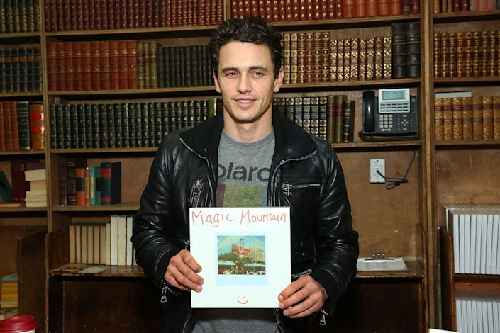 Actor and director James Franco also has an artistic side.