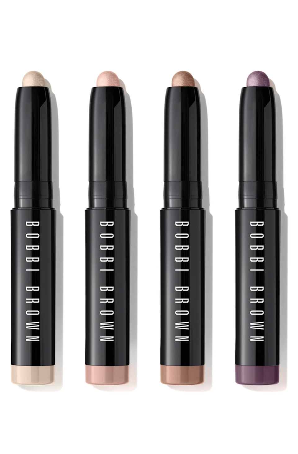 """<h2>Bobbi Brown Travel Size Long-Wear Cream Eyeshadow Stick Set</h2><br>Who needs brushes when it takes all of ten seconds to swipe and blend these creamy eyeshadow sticks? Use it as a liner, smoke it out for more of a shadow look, or use it as a creamy base. <br><br><strong>Bobbi Brown</strong> Travel Size Long-Wear Cream Eyeshadow Stick Set, $, available at <a href=""""https://go.skimresources.com/?id=30283X879131&url=https%3A%2F%2Fwww.nordstrom.com%2Fs%2Fbobbi-brown-travel-size-long-wear-cream-eyeshadow-stick-set-usd-70-value%2F6418298%3F"""" rel=""""nofollow noopener"""" target=""""_blank"""" data-ylk=""""slk:Nordstrom"""" class=""""link rapid-noclick-resp"""">Nordstrom</a>"""