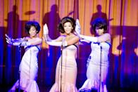 "<p>Set in the 1960s and based on the 1981 Broadway musical, <strong>Dreamgirls</strong> follows a trio of female musicians - The Dreamettes - in their pursuit of mainstream success. With a lineup that includes <a class=""link rapid-noclick-resp"" href=""https://www.popsugar.com/Jamie-Foxx"" rel=""nofollow noopener"" target=""_blank"" data-ylk=""slk:Jamie Foxx"">Jamie Foxx</a>, <a class=""link rapid-noclick-resp"" href=""https://www.popsugar.com/Beyonc%C3%A9-Knowles"" rel=""nofollow noopener"" target=""_blank"" data-ylk=""slk:Beyoncé Knowles"">Beyoncé Knowles</a>, <a class=""link rapid-noclick-resp"" href=""https://www.popsugar.com/Eddie-Murphy"" rel=""nofollow noopener"" target=""_blank"" data-ylk=""slk:Eddie Murphy"">Eddie Murphy</a>, and <a class=""link rapid-noclick-resp"" href=""https://www.popsugar.com/Jennifer-Hudson"" rel=""nofollow noopener"" target=""_blank"" data-ylk=""slk:Jennifer Hudson"">Jennifer Hudson</a>, this film has all the makings of a Black classic from the beginning.</p> <p>Watch <a href=""http://www.amazon.com/Dreamgirls-Jamie-Foxx/dp/B000S0DDG0"" class=""link rapid-noclick-resp"" rel=""nofollow noopener"" target=""_blank"" data-ylk=""slk:Dream Girls on Amazon Prime Video""><strong>Dream Girls</strong> on Amazon Prime Video</a>.</p>"