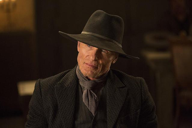 Ed Harris as the Man in Black in <em>Westworld</em>. (Photo: HBO)