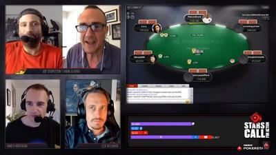 The Stars CALL for Action – Powered by PokerStars online poker tournament raised an enormous $1 million for charity