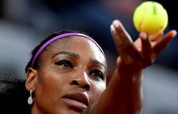 Serena Williams is aiming to win her 22nd Grand Slam title at the French Open. (AFP Photo)