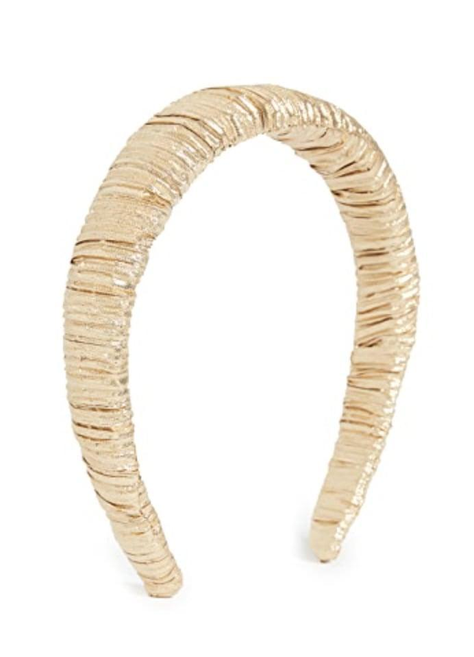 <p>Add a touch of glam to your outfit with this <span>Loeffler Randall Marina Headband</span> ($60).</p>