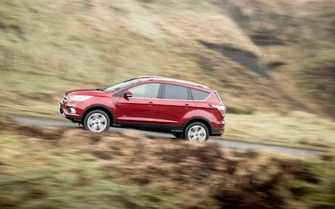 Ford Kuga SUV review - Credit: James Lipman