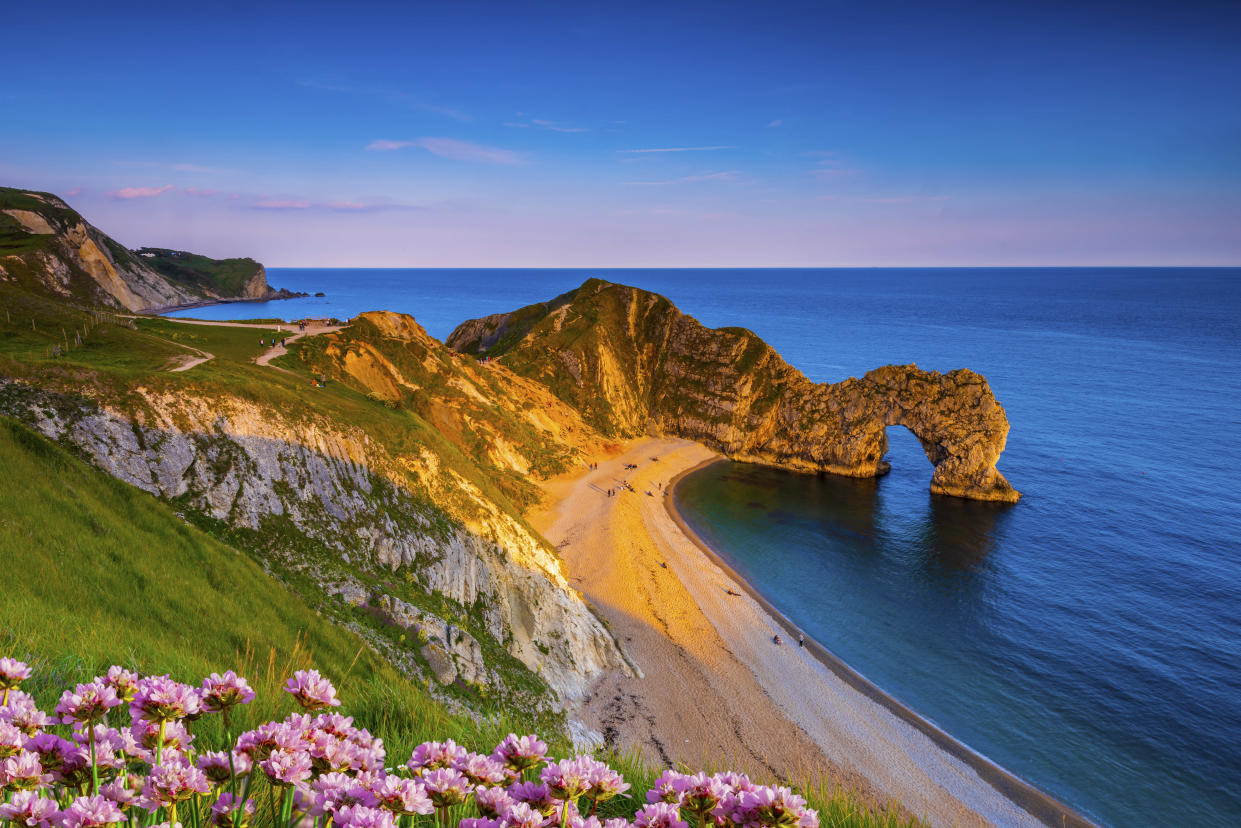 The clue's in the name - the Jurassic Coast is a haven for fossil-hunters (Getty Images)