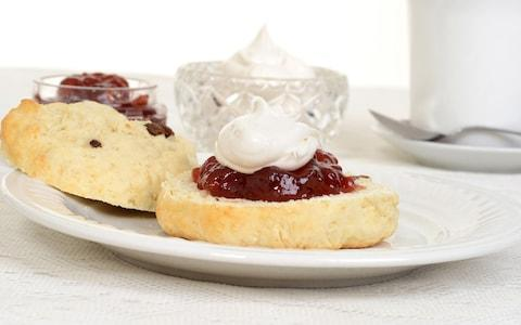 Don't even think about leaving Devon without indulging in cream tea, a local tradition - Credit: mg7/mg7