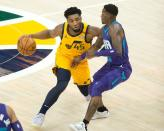 NBA: Charlotte Hornets at Utah Jazz