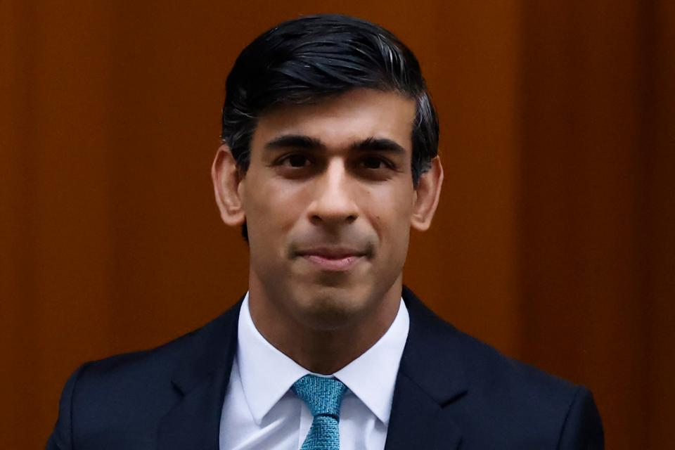 Britain's chancellor of the exchequer Rishi Sunak. Photo: Tolga Akmen/AFP via Getty