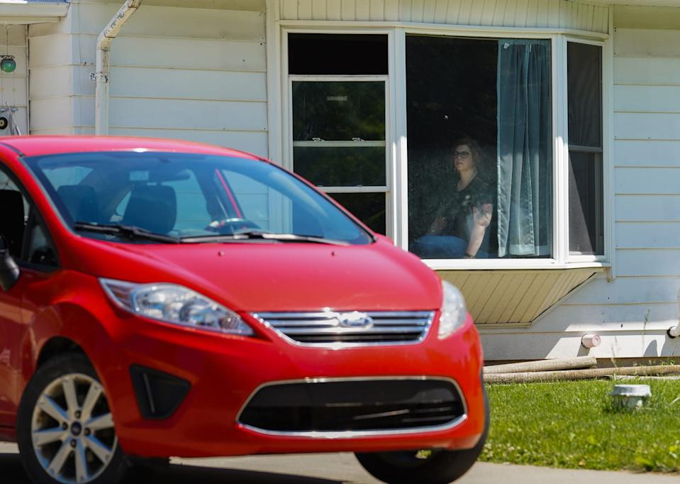 """A 2012 Ford Fiesta parked in Flint on Wednesday, June 26, 2019. """""""