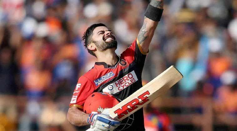 Virat Kohli's innings went in vain as the match was washed off