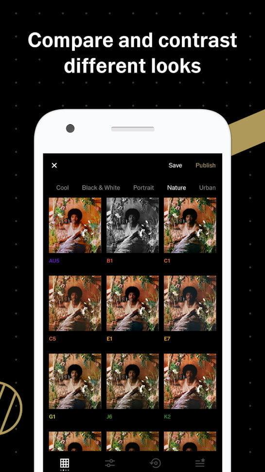 mejores apps android vsco 2