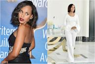 <p><b>When: February 2017 </b><br>Kerry Washington is giving us major hairspiration! At the Writers Guild Awards on Sunday, the actress rocked sexy should length wavy locks and showed off her fabulously slim post-baby bod in a sexy, black Sally La Point Dress. A day later the dark-haired beauty was spotted with a chic pin straight bob while promoting her fav skincare products. Wavy or straight, she looks gorgeous! <i> (Photos: Getty/Instagram/February 2017) </i> </p>