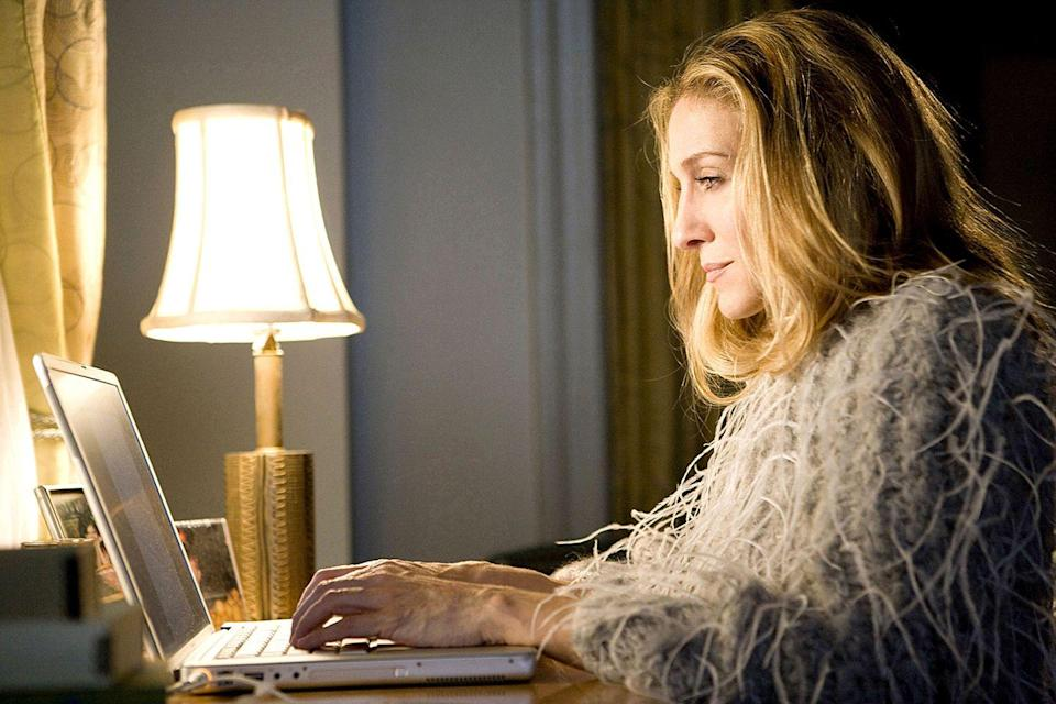 "<p>We couldn't help but wonder, how could Carrie <em>not</em> question herself in the final episode? Instead, her final question is actually asked in the episode before she moves to Paris when she writes, ""Is it time to stop questioning?"" </p>"