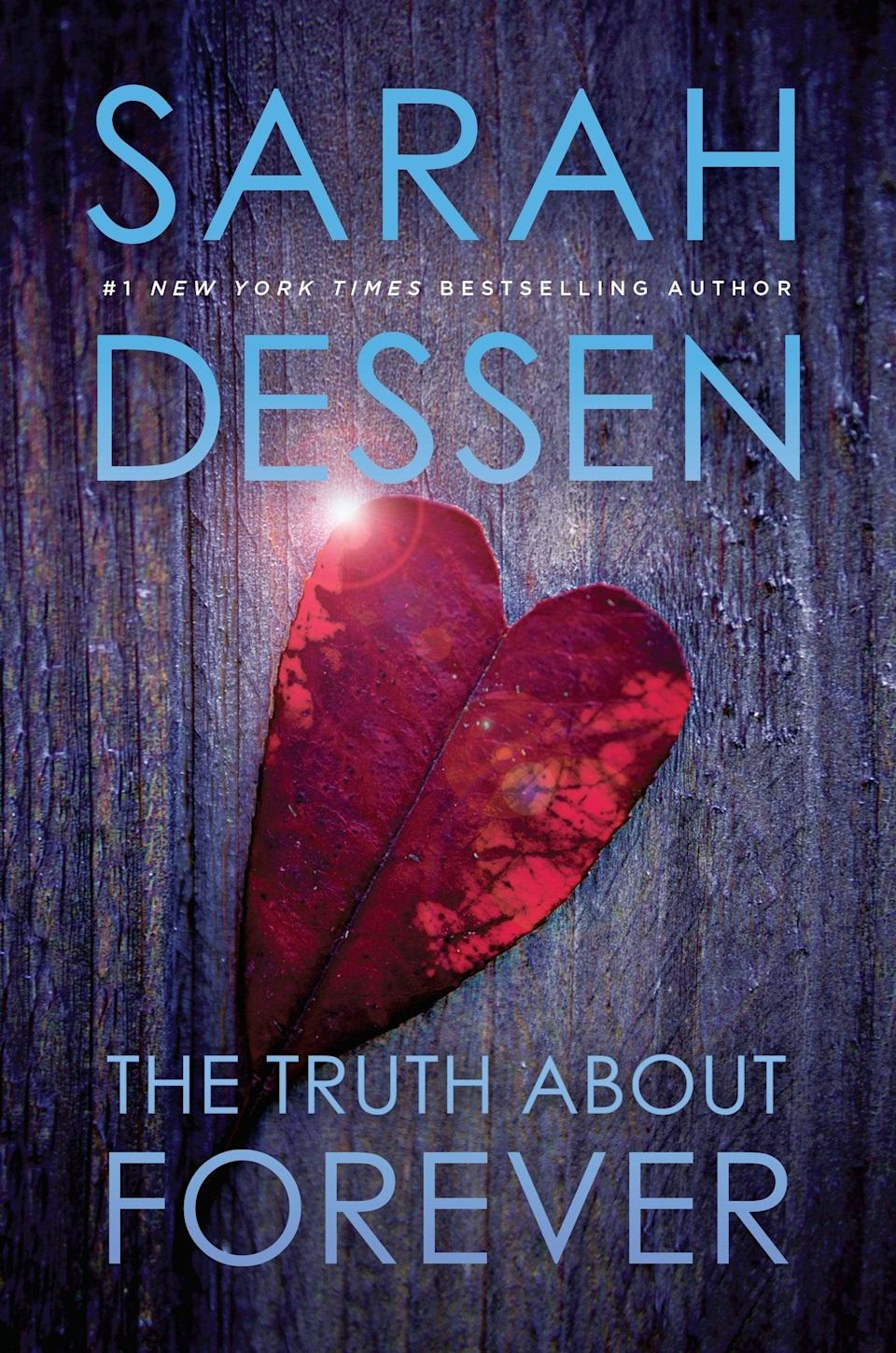 """<p>""""<span><strong>The Truth About Forever</strong></span> ($9, originally $11) has all the components that make a Sarah Dessen novel so timeless. It all starts with Macy, a perfectionist who hides the lingering pain from her father's death until she falls in with the quirky, chaotic employees at Wish Catering. There, she meets Wes, the sweet, strong, and super-hot yet semi-off-limits guy whose chemistry with her is off the charts - and who might be the one to bring her walls down, if she lets him. The romance, the coming-of-age story, the simmering small-town summer heat - I adored this book in high school, and every time I crack it open, I fall in love with Macy, Wes, and Wish Catering all over again. In fact, I think I just talked myself into another reread."""" - Maggie Ryan, assistant editor, fitness</p>"""
