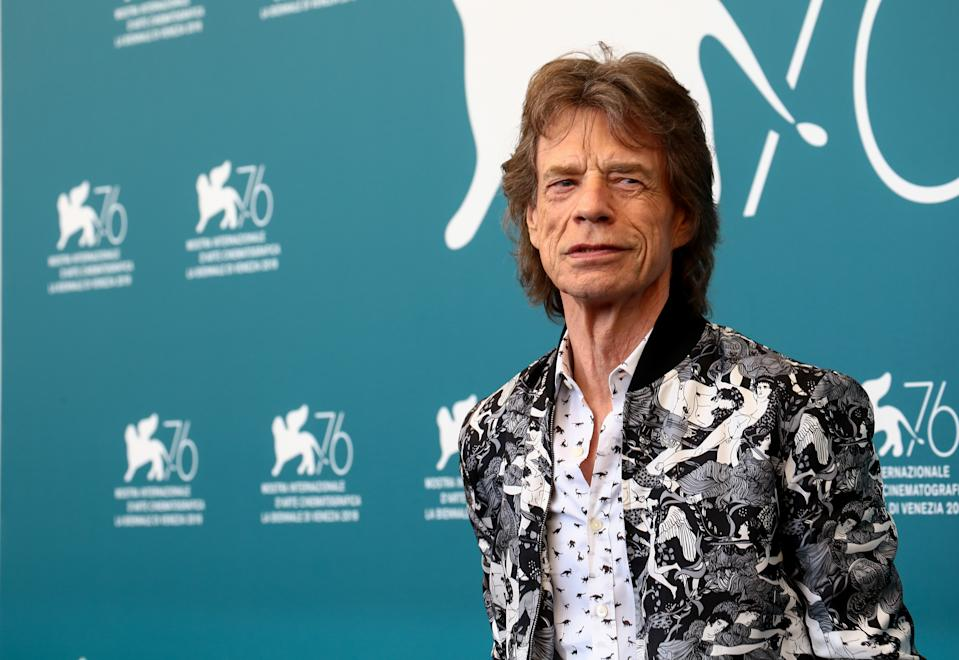 Mick Jagger is featured in a rare picture for girlfriend Melanie Hamrick's birthday, who is 43 years younger.