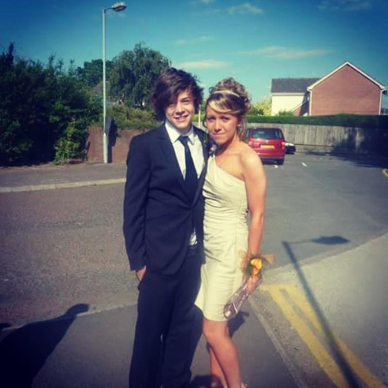 """<p>It wasn't that long ago that the cute singer with the floppy hair attended prom with Lydia Eve Cole. His date, who has referred to him as her BFF in other Instagram posts, captioned this sweet shot: """"Always love you <a rel=""""nofollow noopener"""" href=""""https://www.instagram.com/explore/tags/harrystyles/"""" target=""""_blank"""" data-ylk=""""slk:#harrystyles"""" class=""""link rapid-noclick-resp"""">#harrystyles</a> <a rel=""""nofollow noopener"""" href=""""https://www.instagram.com/explore/tags/promdate/"""" target=""""_blank"""" data-ylk=""""slk:#promdate"""" class=""""link rapid-noclick-resp"""">#promdate</a>."""" (Photo: <a rel=""""nofollow noopener"""" href=""""https://www.instagram.com/p/3kJ9UsGmbB/"""" target=""""_blank"""" data-ylk=""""slk:Lydia Eve Cole via Instagram"""" class=""""link rapid-noclick-resp"""">Lydia Eve Cole via Instagram</a>) </p>"""