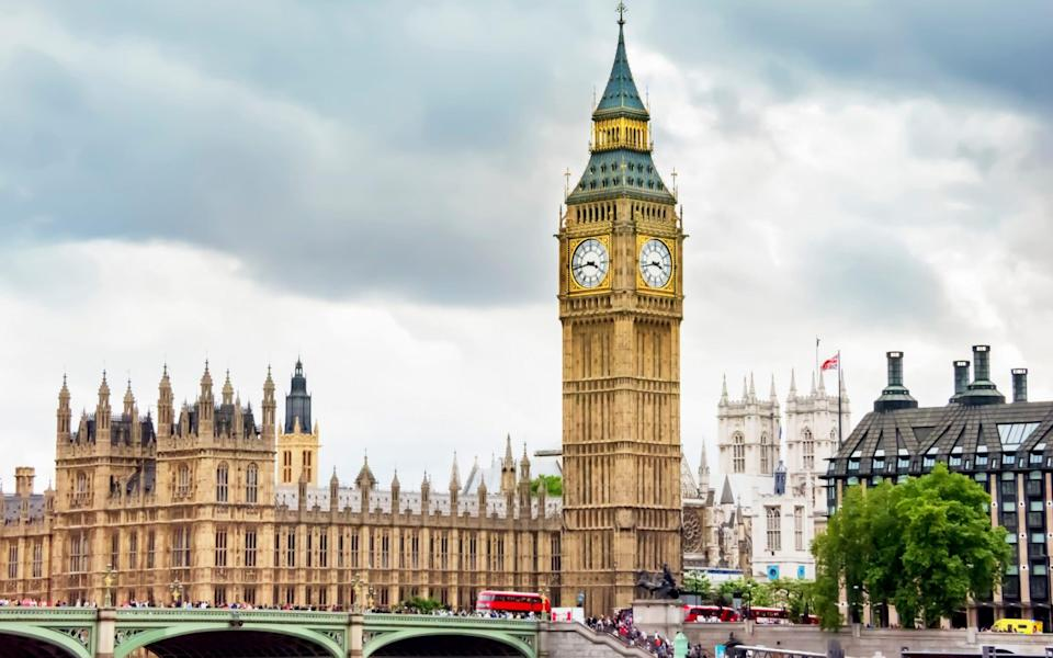 The north end of the Palace of Westminster, home to Big Ben - Kriangkrai Thitimakorn/Getty